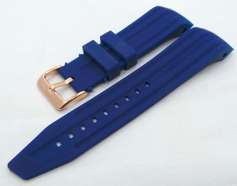 Vostok Europe Mriya Silicon Strap 24mm Blue-Mry.24.S.R.Bu - Russia2all