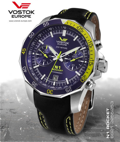 Vostok Europe Rocket N1 Chrono Quartz Watch 6S21/2255253 - Russia2all