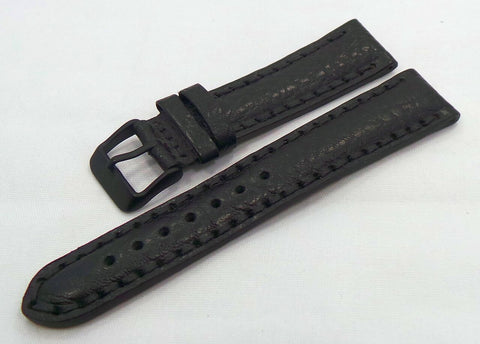 Vostok Europe N1 Rocket-Radio Room Leather Strap 20mm Black-N1RR.20.L.B.Bk - Russia2all