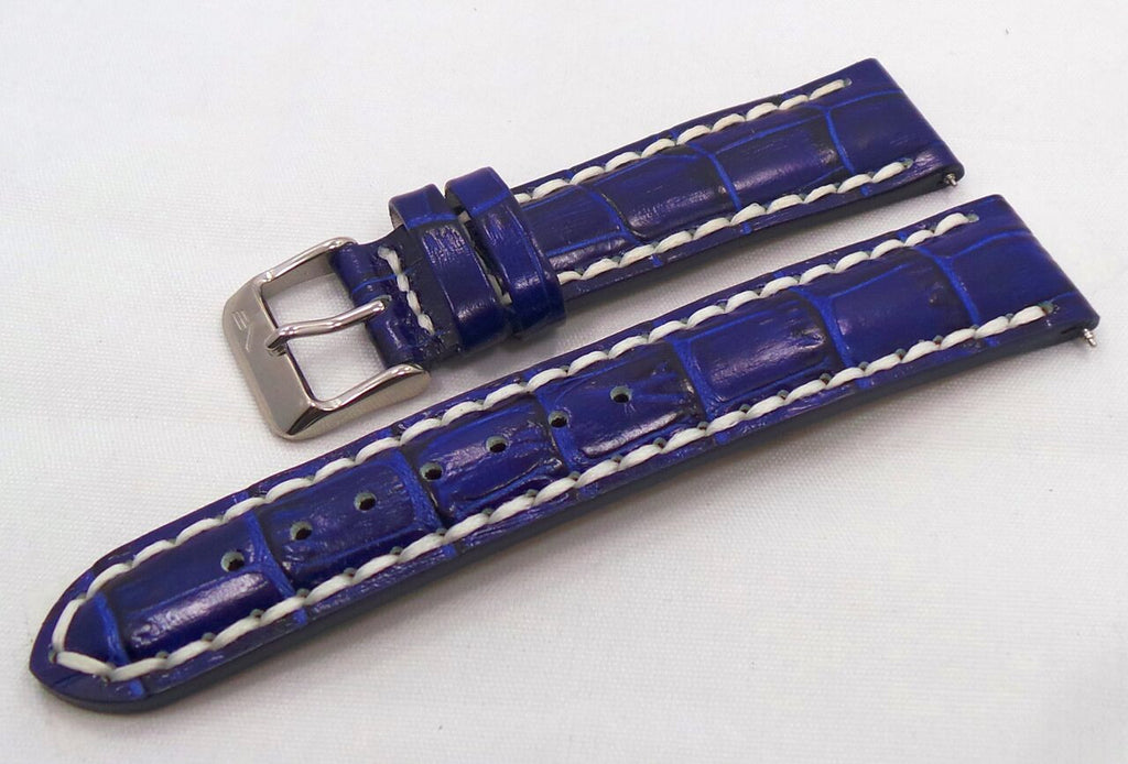 Vostok Europe N1 Rocket-Radio Room Leather Strap 20mm Blue/White-N1RR.20.L.S.Bu.W - Russia2all
