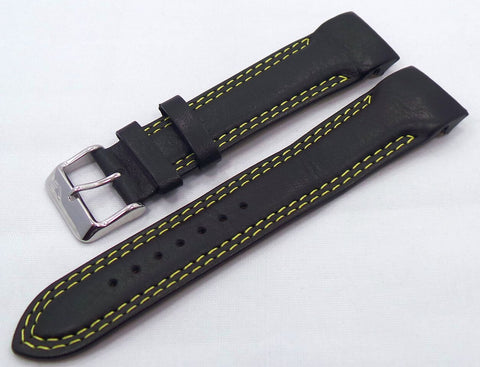 Vostok Europe N1 Rocket-Radio Room Leather Strap 22mm Black/Yellow-N1RR.22.L.S.Bk.Y - Russia2all