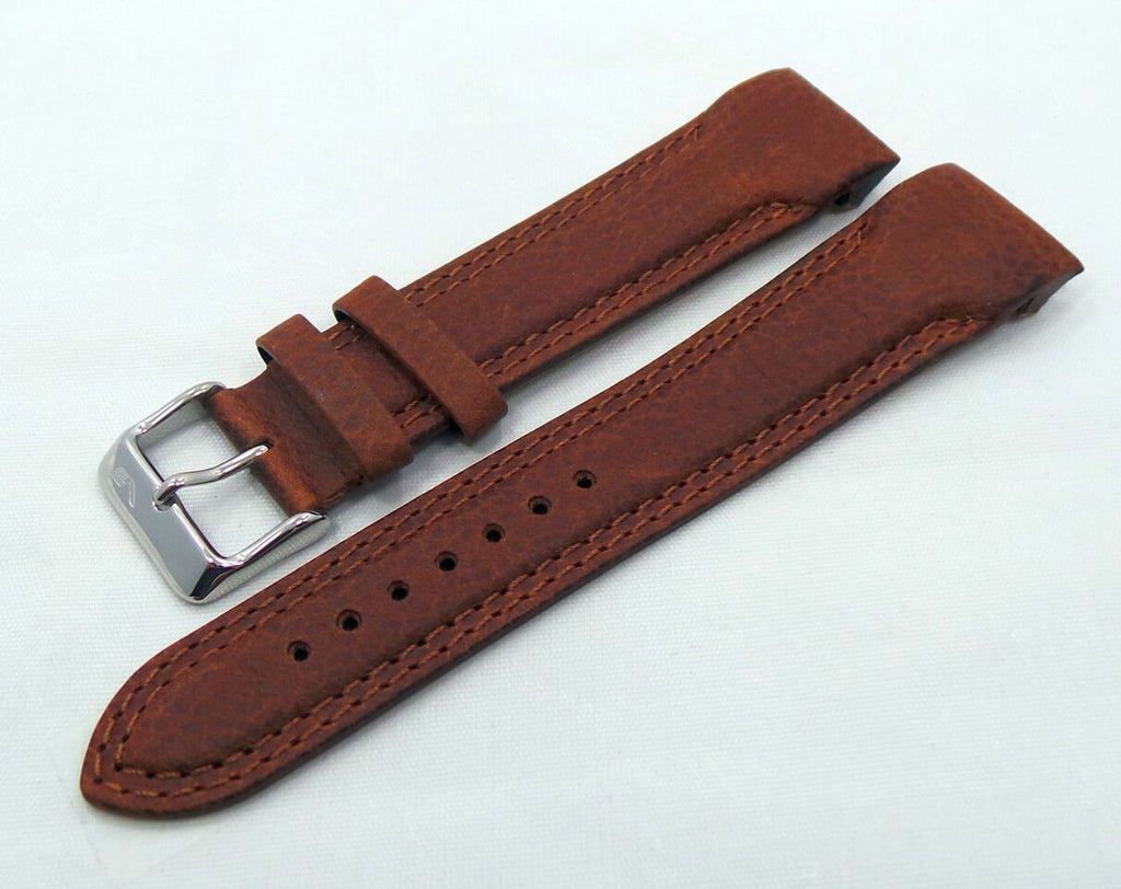 Vostok Europe N1 Rocket-Radio Room Leather Strap 22mm Brown-N1RR.22.L.S.Br - Russia2all