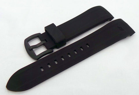 Vostok Europe N1 Rocket-Radio Room Silicon Strap 22mm Black-N1RR.22.S.B.Bk