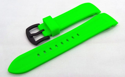 Vostok Europe N1 Rocket-Radio Room Silicon Strap 22mm Green-N1RR.22.S.B.G