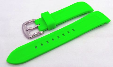Vostok Europe N1 Rocket-Radio Room Silicon Strap 22mm Green-N1RR.22.S.S.G