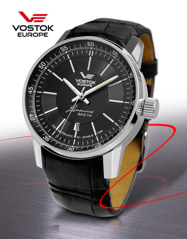 Vostok-Europe GAZ-Limo Watch NH35A/5651137 - 1