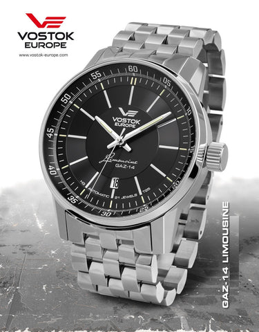 Vostok-Europe GAZ-Limo Watch NH35A/5651137B - 1