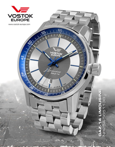 Vostok-Europe GAZ-Limo Watch NH25A/5651138B - 1
