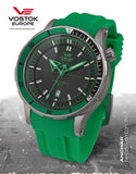 Vostok-Europe Green Color Anchar Mens Diver Watch NH35A/5107172 - 2