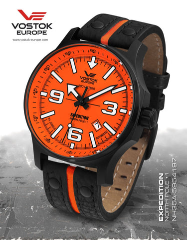 Vostok-Europe Expedition North Pole - 1 Watch  (NH35A/5954197) - 1