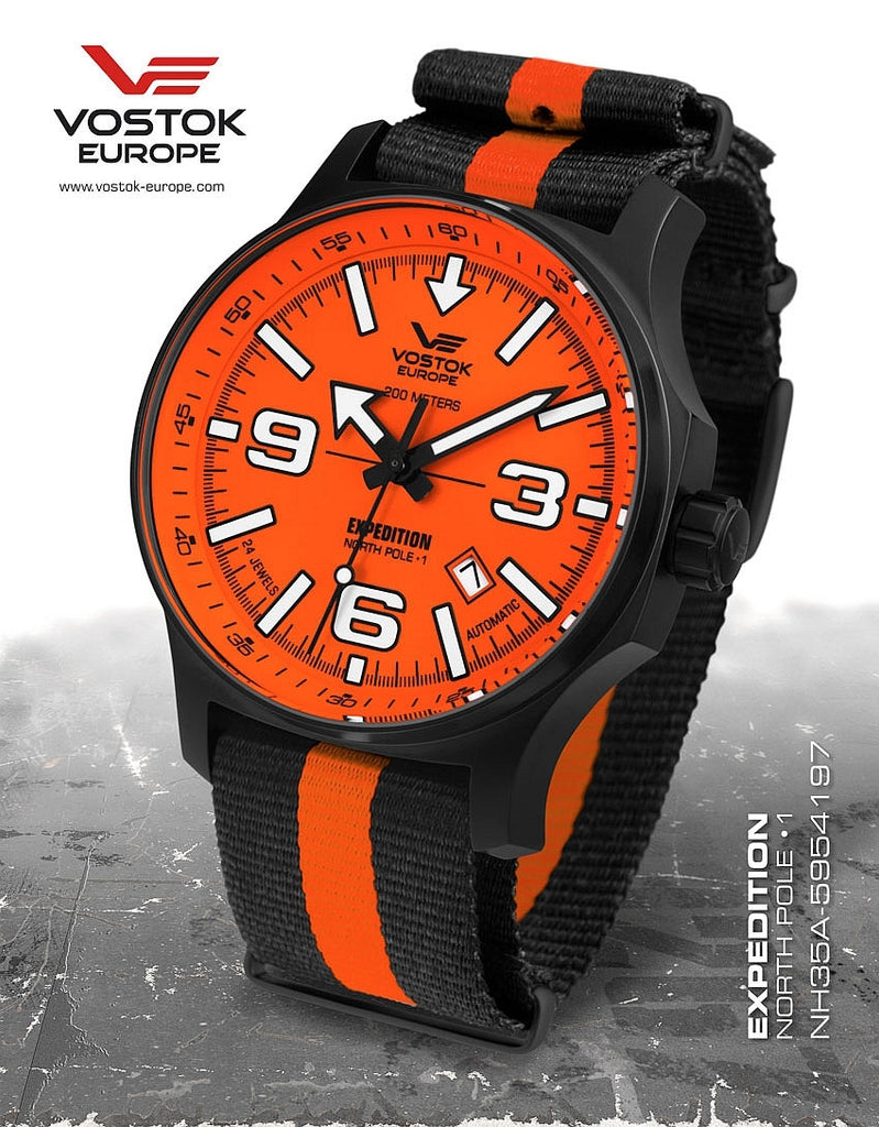 Vostok-Europe Expedition North Pole - 1 Watch (NH35A/5954197N) - Russia2all