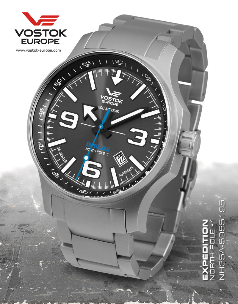 Vostok-Europe Expedition North Pole - 1 Watch NH35A/5955195B - Russia2all