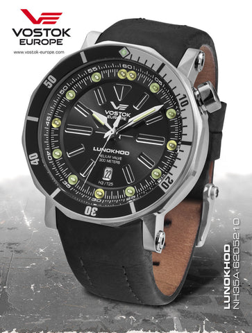 Vostok-Europe Lunokhod 2 Automatic Tritium Tube Watch NH35A/6205210 - 1