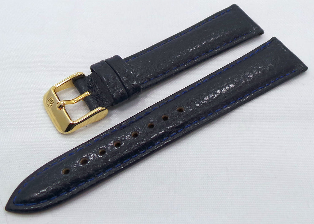 Poljot Leather Strap 18mm Blue-Pol.18.L.R.Bu - Russia2all