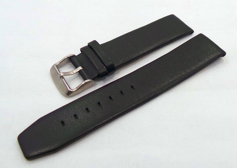 Poljot Leather Strap 20mm Black-Pol.20.L.M.Bk - Russia2all