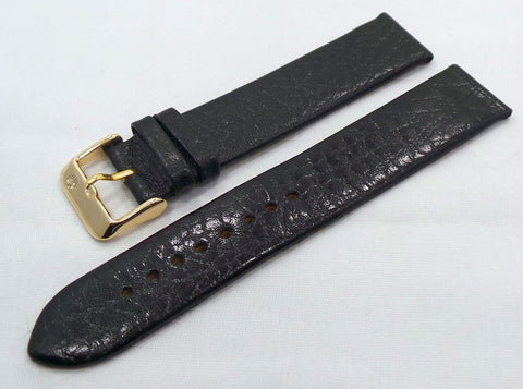 Poljot Leather Strap 20mm Black-Pol.20.L.R.Bk - Russia2all