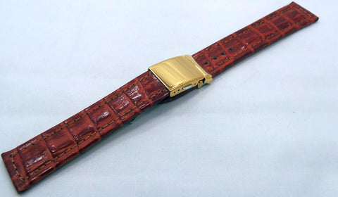 Poljot Leather Strap 20mm Brown-Pol.20.L.R.Br.001 - Russia2all