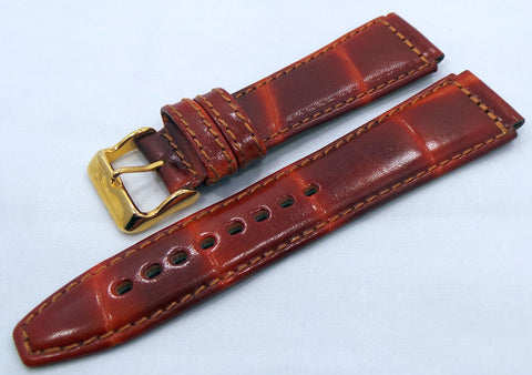 Poljot Leather Strap 20mm Brown-Pol.20.L.R.Br.002 - Russia2all
