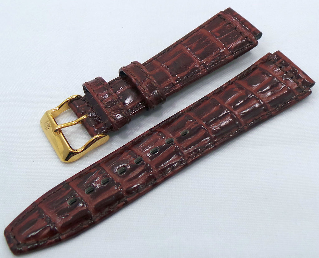 Poljot Leather Strap 20mm Brown-Pol.20.L.R.Br.003 - Russia2all