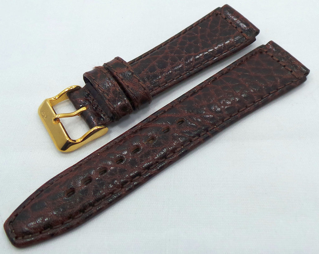 Poljot Leather Strap 20mm Brown-Pol.20.L.R.Br.004 - Russia2all
