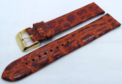 Poljot Leather Strap 20mm Brown-Pol.20.L.R.Br.006 - Russia2all