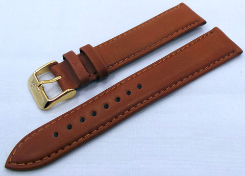 Poljot Leather Strap 20mm Brown-Pol.20.L.R.Br.007 - Russia2all