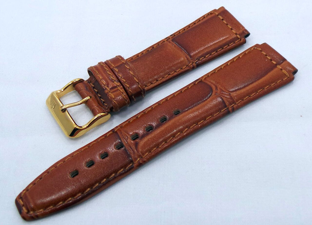 Poljot Leather Strap 20mm Brown-Pol.20.L.R.Br.009 - Russia2all