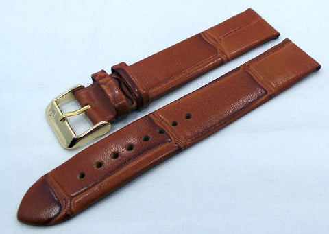 Poljot Leather Strap 20mm Brown-Pol.20.L.R.Br.010 - Russia2all