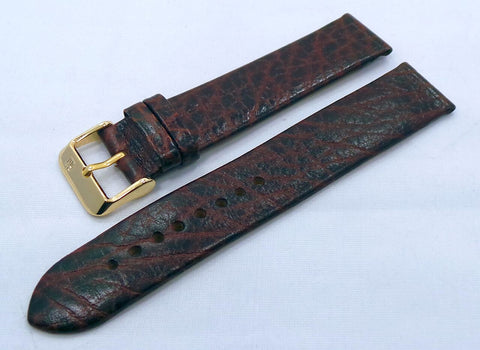 Poljot Leather Strap 20mm Brown-Pol.20.L.R.Br.011 - Russia2all