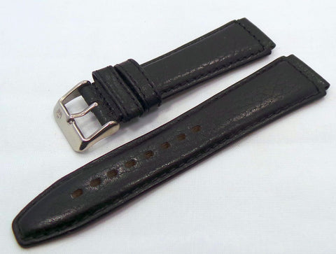 Poljot Leather Strap 18mm Black-Pol.18.L.S.Bk - Russia2all