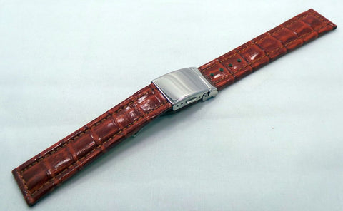 Poljot Leather Strap 20mm Brown-Pol.20.L.S.Br - Russia2all