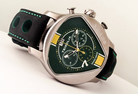 Tsikolia (UNIQ) Seven Limited Edition Green and Yellow ES1063B71 - 1