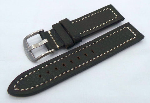 Uniq Leather Strap 22mm Brown/White-Unq.22.L.M.Br.W - Russia2all