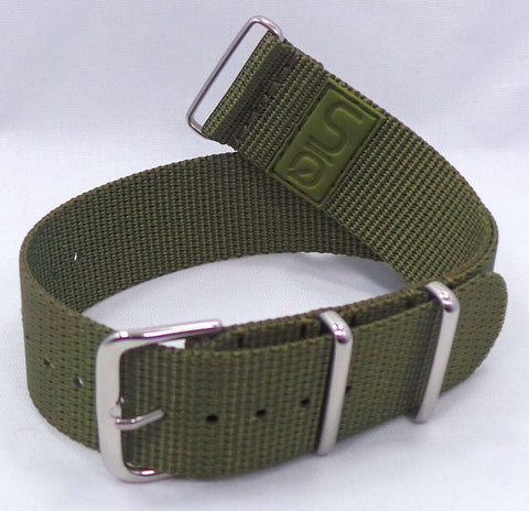 Uniq NATO Ballistic Nylon Strap 22mm Green-Unq.22.N.S.G - Russia2all