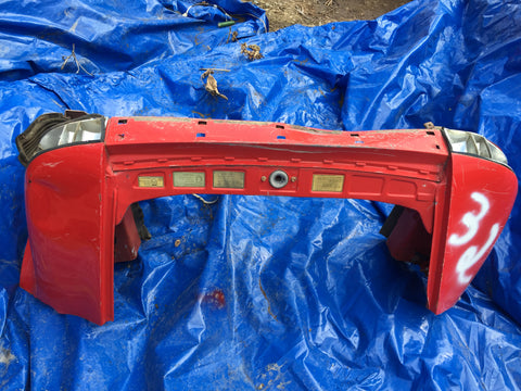 911 Rear latch panel Clip short red 1986 -