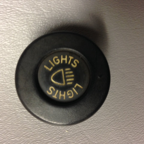 "911 KNOB Headlight Switch cap ""LIGHTS""  symbol tapered. Switch sold seperately - 911.613.215.01"
