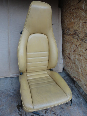 Boxster SEAT right manual light Tan -