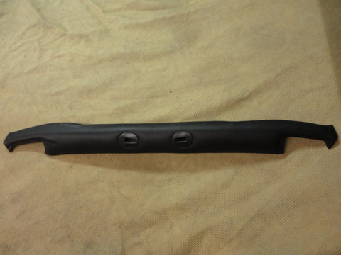 911 Cabriolet top latch interior cover header to  access to power motors NO CRACKS black 1987-94 - 911.565.093.66