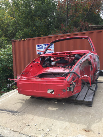 911 Body cut Front Clip Targa Red 1988 -