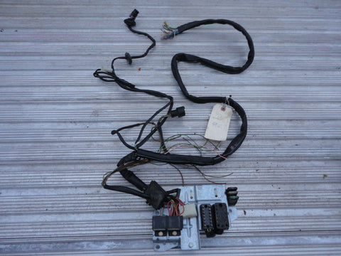 964 WIRING harness 1990 Partial rear body harness cut, Relay panel -
