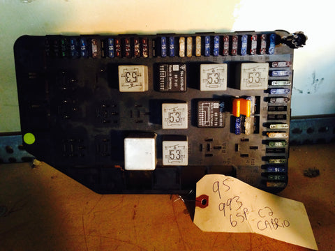 993 Fuse Relay Panel central electrical board relays and fuses NOT included - 993.610.011.00