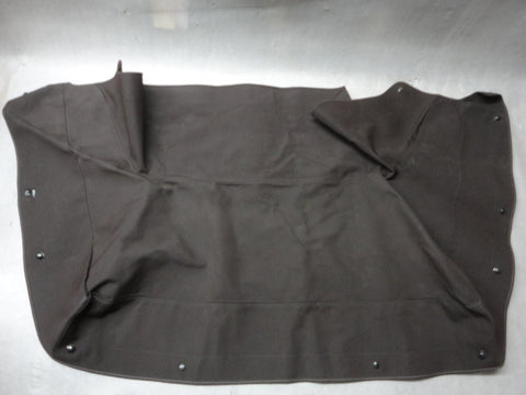 911 Convertible Top Boot Cover 1985 Brown small tear needs repair - 911.561.023.00