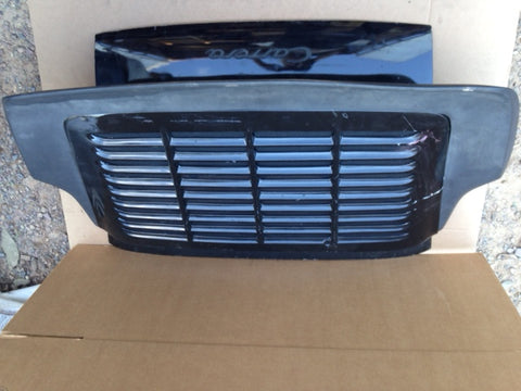911 Engine Lid, grille, carrera style Spoiler After Market Base Black - 911.512.010.65