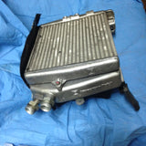 993 Oil Cooler Tiptronic with Fan, shroud, side baffle, temp sensor, fittings 1995 Langerer Reich prod 11/94 - 943.307.027.10