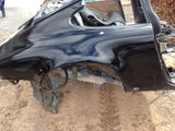 911 Body cut Right Rear Clip Euro 1984 coupe black damaged driver door jamb -