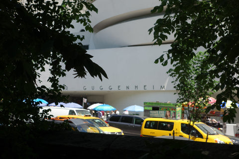 Guggenheim Museum from Central Park