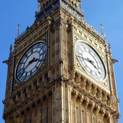 Half Past Necklace [Big Ben Clock Tower]
