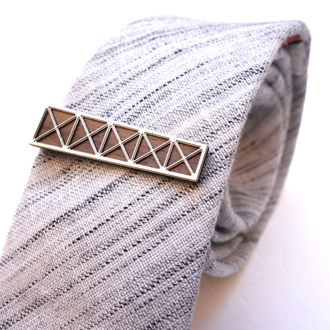 Hancock Center inspired Tie Clip