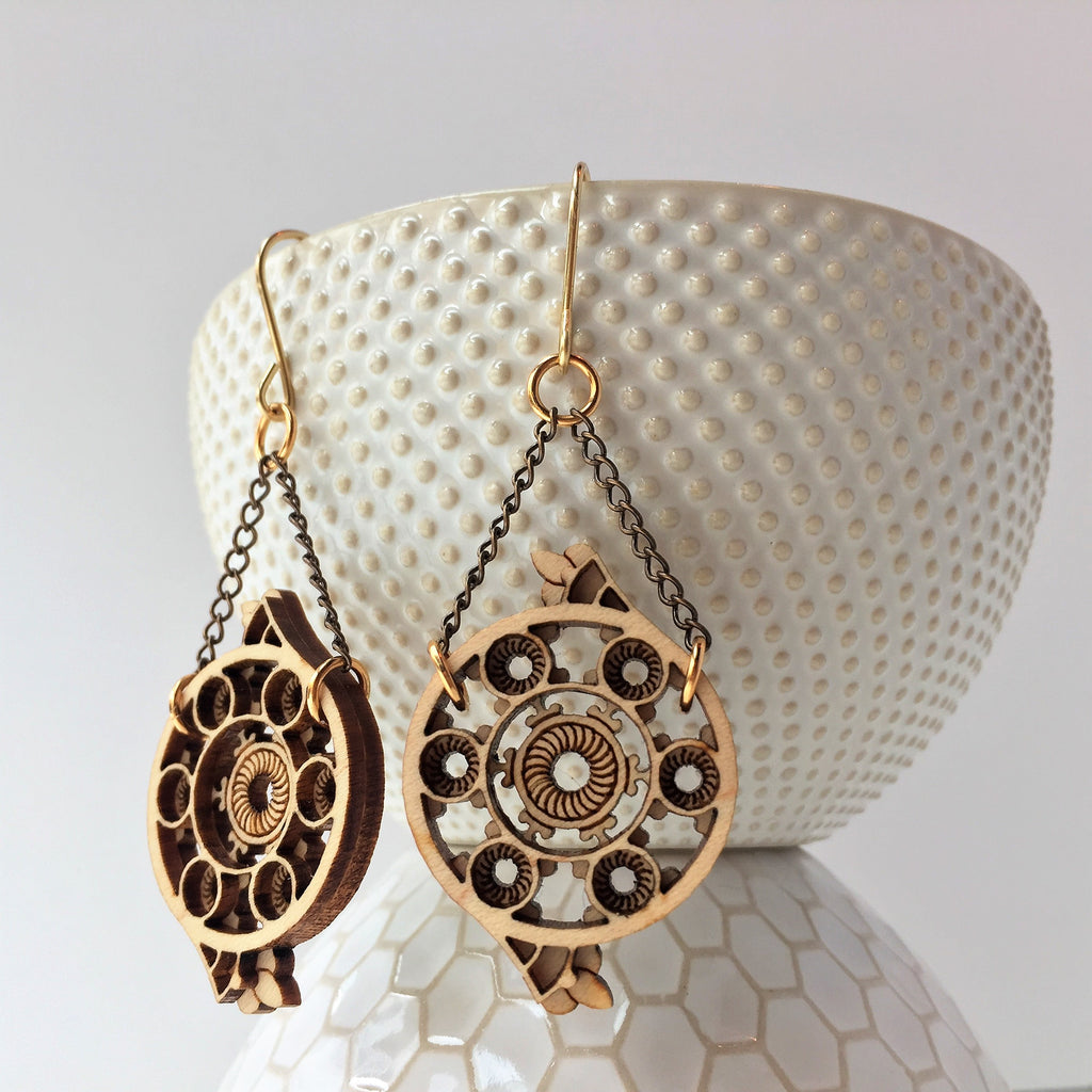 Treppe Earrings [Heurich House]