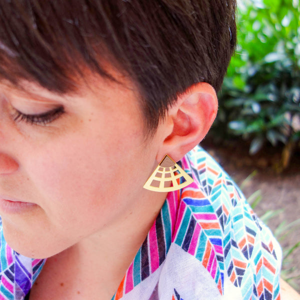 Occhio Earrings [The Pantheon] - Off on a Tangent Shop - 4